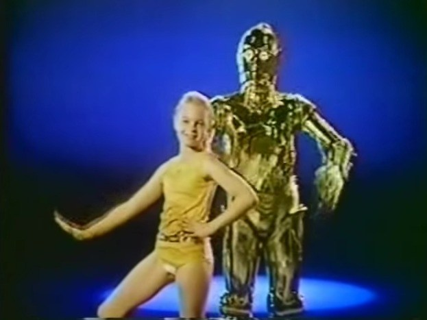 My first acting job! 10 years old in a Star Wars Underoos commercial